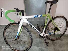 bicicleta carreras cannondale caad 10 aluminio