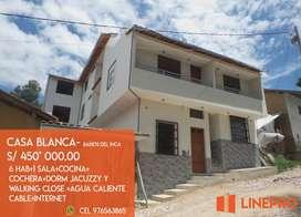 Venta Casa de estreno Baños del Inca S/ 450'000.00