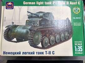 1/35 Tanque Panzer Ii C Cañon Sukhoi Mirage Auto Mig Barco