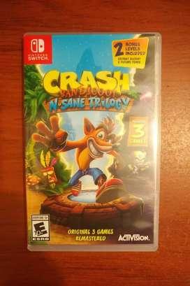 Crash Bandicoot N Sane Trilogy Para Nintendo Switch
