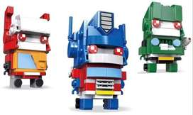 LEGO JIWEIMO Transforming Building Kit Creative Toy for Kids and Any Transform Robot Fans ,Team A 359 pcs Ref:VS-US00378