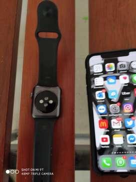 Iphone y apple watch serie 3