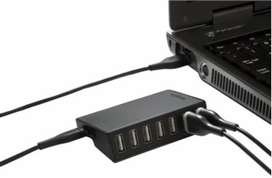 Hub Usb Targus 7 Port 2.0 Black /Gray
