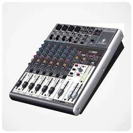 Consola Behringer 1204USB Music Box Colombia Mezclador audio