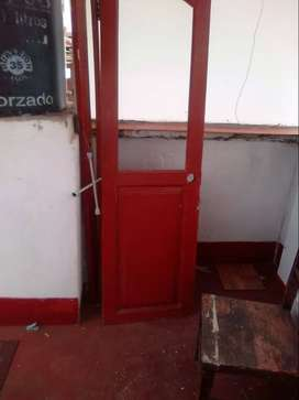 Puerta de madera en oferta