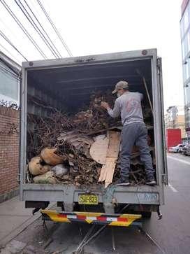 eliminación de desmonte y recojo de maleza