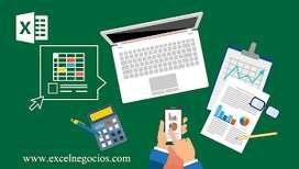 EXCEL- CLASES ONLINE  - SOPORTE/RESOLUCION
