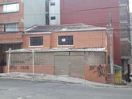 VENTO CASA ESQUINERA COMERCIAL EN CHAPINERO ALTO