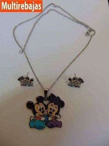 Juego De Joya Mickey and Minnie 0