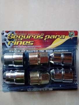 Tuercas de seguridad 12mm x 1.5 EVITE EL HURTO DE SUS RINES
