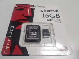 Micro SD 16 GB Kingston Class 10