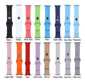 Banda en Silicona Apple Watch Series