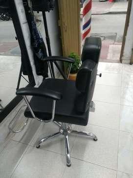 Dos Silla de peluqueria