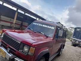 Se vende o permuta Mitsubishi Montero