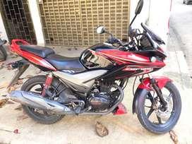 HONDA CBF 125 ROJA MODELO 2013