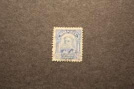 ESTAMPILLA BRASIL, 1913, DEODORO DE FONSECA, USADA
