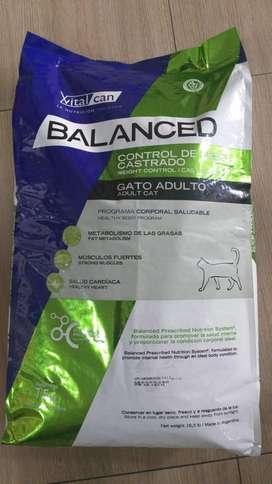 Vital Can Balanced Gatos Control Peso 7.5kg