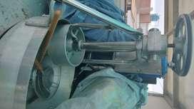 Máquina industrial chiflera