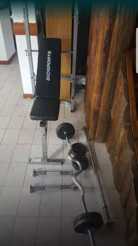Liquido equipo de pesas