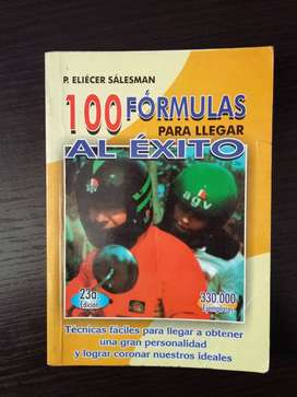 Libro 100 formulas para llegar al exito