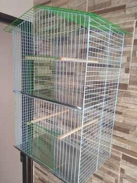 Vendo jaula doble horizontal