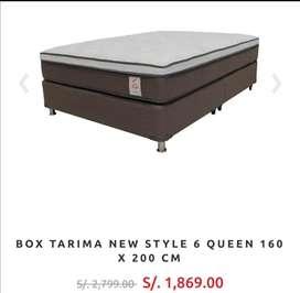 VENDO BOX TARIMA QUEEN