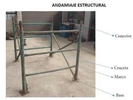ANDAMIOS METALICOS SUPER BARATOS!