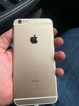 Iphone 6 plus 16gb color dorado