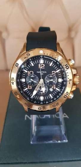 Reloj Náutica Deportivo Elegante Original 100% Made in Japan Movement Chronograph Cronómetro Taquímetro Edición Limited.