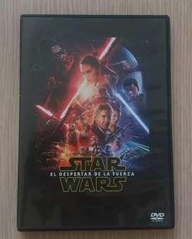 Star Wars despertar de la fuerza DVD pelicula Original Destapada sin uso.