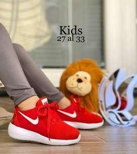 Nike Lunarlon en suela Eva para las princesas tallas de la 27-33 Envío a Nivel Nacional GRATIS