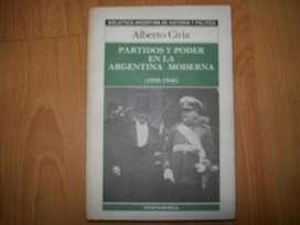 Partidos y Poder en la Argentina Moderna