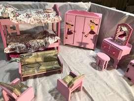 Cuarto De Barbie Completo Y Con Accesorios