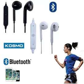 Auricular Bluetooth Mic Inalambrico Deportivo Earbuds In Ear  KOSMO