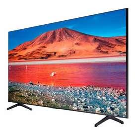Se vende tv de 75 pulgadas nuevo en su casa, 4k marca samsung smart tv ten un cine en casa