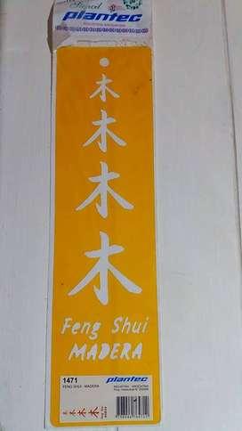 STENCIL PLANTEC FENG SHUI MADERA  1471 25 x 7 cm