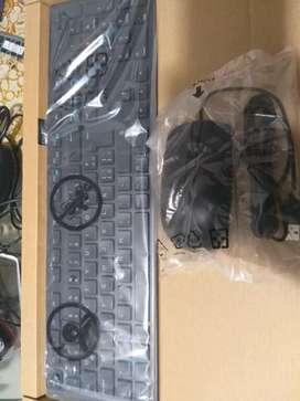 Combo Teclado y Mouse USB Marca Dell