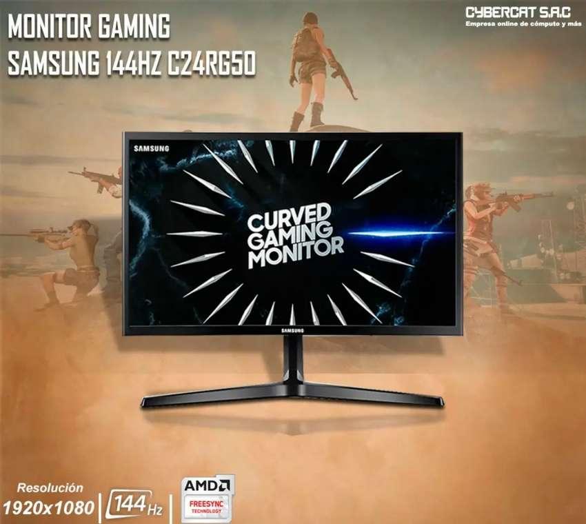 """Monitor Curvo Samsung 24""""  144hz FreeSync 0"""
