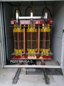 Reparación y mantenimiento de transformadores y motores eléctricos