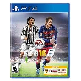 FIFA 2016 para PS4 medio fisico en BLURAY usado