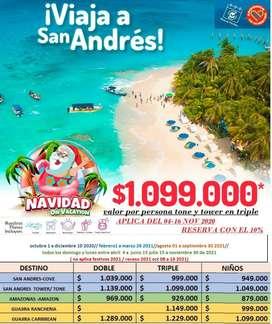 Súper PROMOCION TOURS San Andrés islas