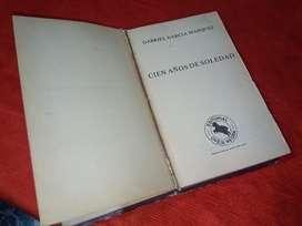 Libro cien años de soledad editorial Oveja Negra ltda 1982 autentico
