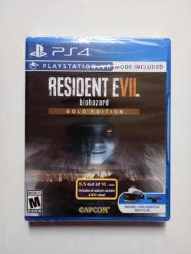 Resident Evil 7 Gold juego PS4 Nuevo y Sellado