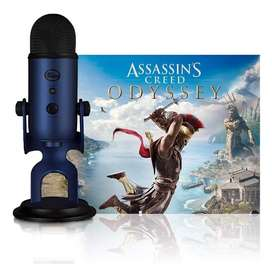 Blue Yeti  Assasins Creed Gratis!!! Usb Microfono En Stock!