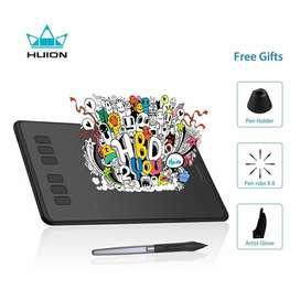 Tableta Grafica Huion Inspiroy H640p. ¡ Nuevo !