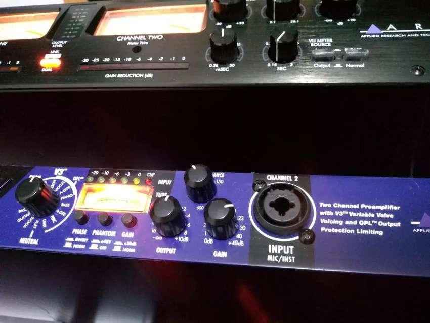 Equipos de estudio de grabación