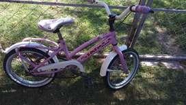 Bicicleta rodado 16.