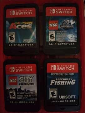 Pack 4 Juegos Nintendo Switch