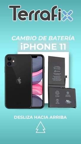 ¡Cambio de Batería Iphone 11!