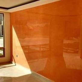 espatulados estuco veneziano paredes 3d simulacion de concreto